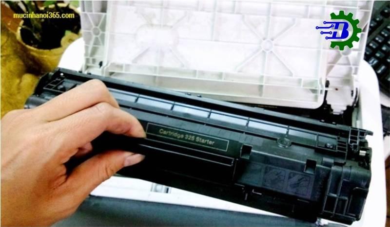 Đổ mực máy in tại Cự Khối