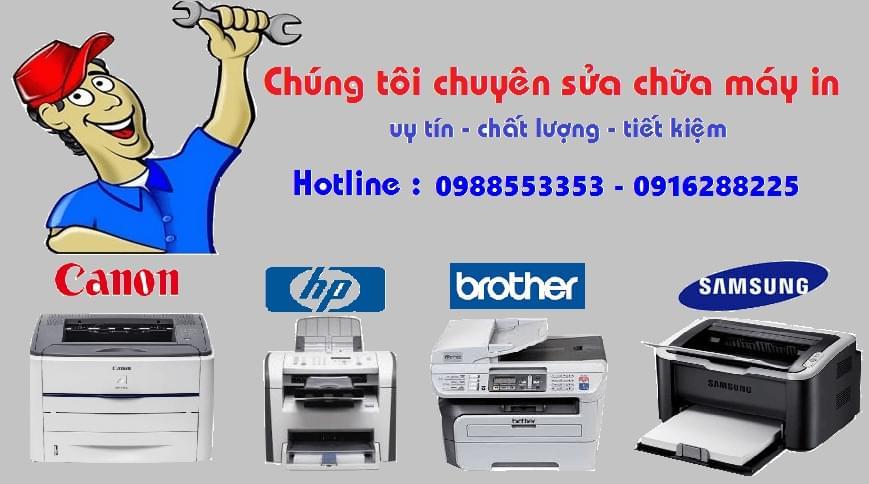 Đổ mực máy in tại Ngọc Lâm