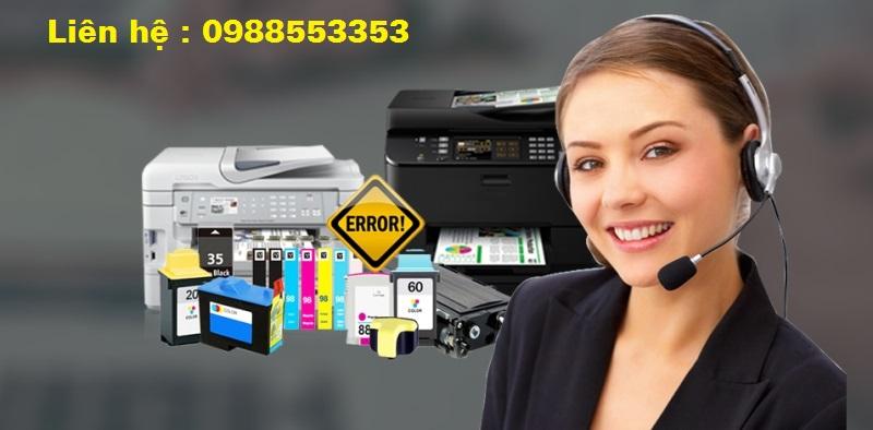 Đổ mực máy in tại Ngọc Thụy