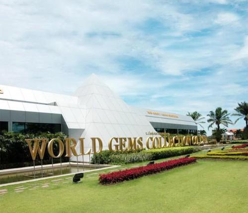 Kết quả hình ảnh cho Trung tâm chế tác Vàng Bạc Đá Hoàng Gia Quý World Gems Gallery