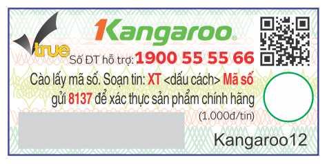 tem cào nhận biết máy lọc nước kangaroo chính hãng