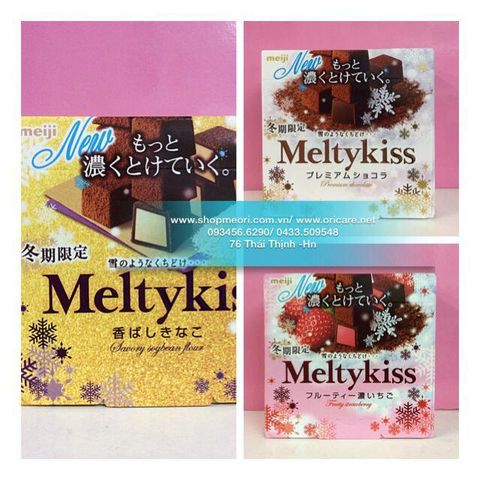 CHOCOLATE MELTYKISS MEIJI - NHẬT