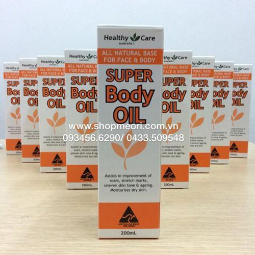 DẦU RẠN SUPER BODY OIL 200ML - ÚC