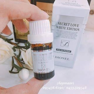 Nước hoa vùng kín Dionel White  5ml Hàn Quốc