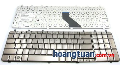 Bàn phím laptop HP Pavilion DV7 đồng Keyboard