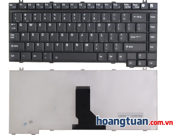 Bàn phím Toshiba Satellite P25 P30 P35 P35 S205 S1130 keyboard Keyboard