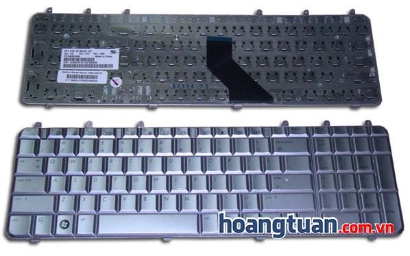 Bàn phím laptop HP Pavilion DV7 bạc keyboard
