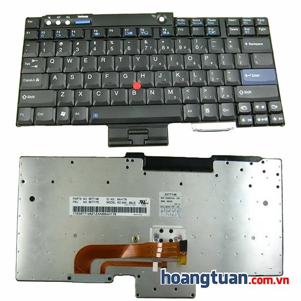 Bàn phím laptop IBM Thinkpad W500 W700 Keyboard