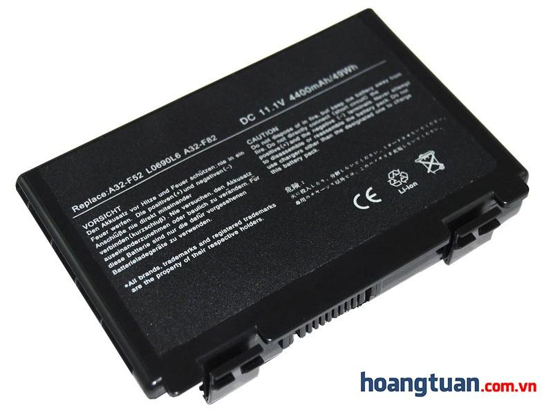 Pin Laptop ASUS K50AB K70IJ X65