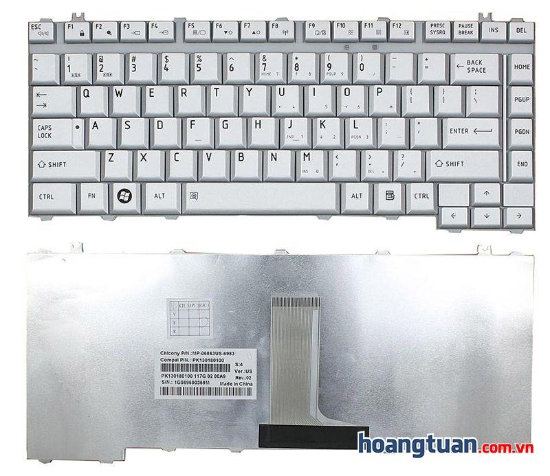 Bàn phím Toshiba Satellite  A210 A215 M300 A200 A205 keyboard Keyboard