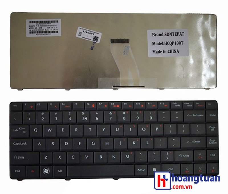 Bàn phím laptop Acer Emachines D525 D725 4732 320g keyboard