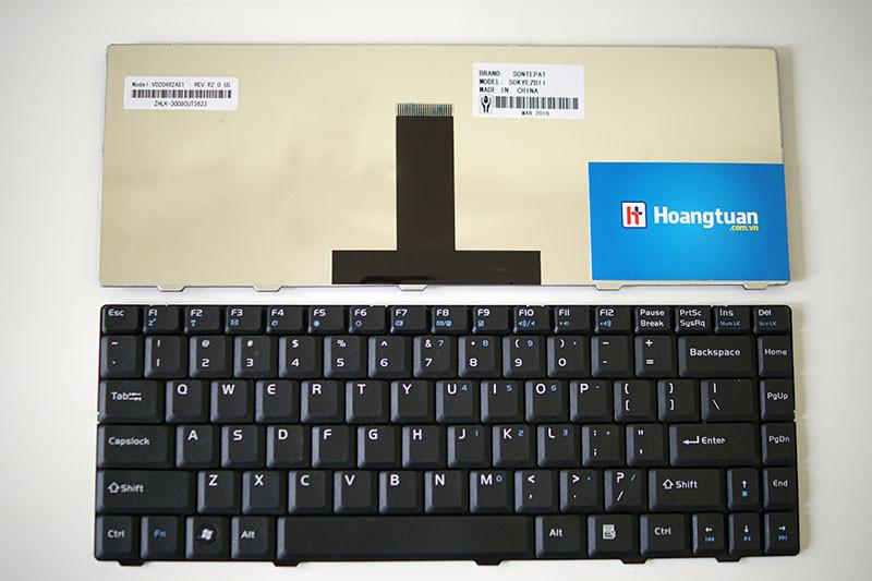 Bàn phím laptop ASUS X82CR X82L X82Q X82S Keyboard