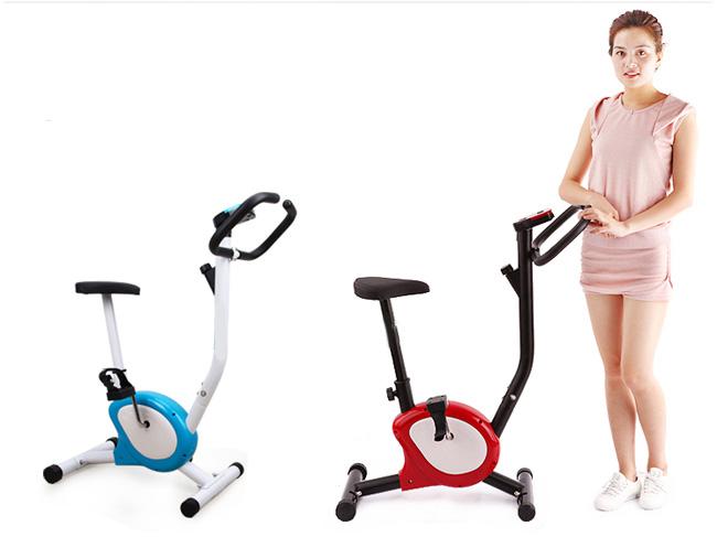 giảm cân cùng xe đạp tập thể dục