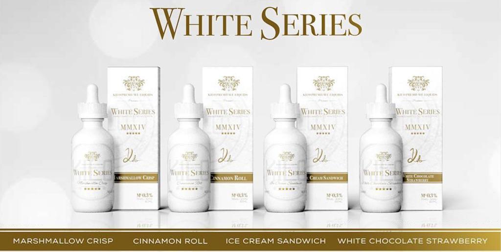 Kilo White Series - tinh dầu thuốc lá điện tử chính hãng chất lượng tốt
