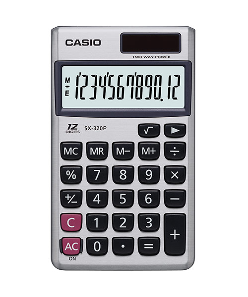 MAY TINH CASIO SX-320P