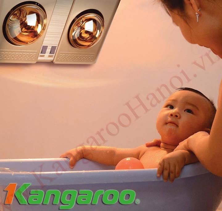 Đèn sưởi nhà tắm kangaroo