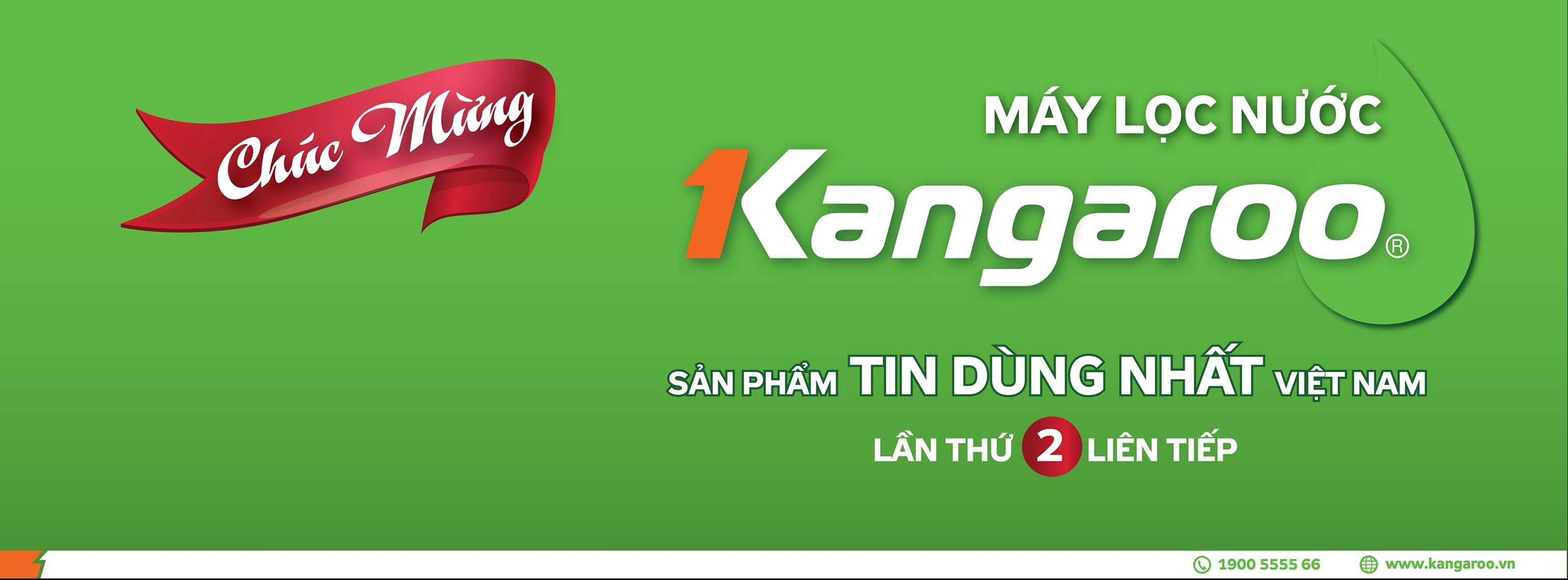 lần thứ 2 liên tiếp Kangaroo trở thành nhãn hiệu máy lọc nước được tin dùng nhất Việt Nam