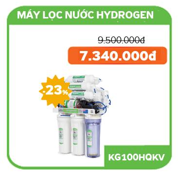 Giá bán Máy lọc nước Kangaroo Hydrogen KG100HQ  không vỏ tủ