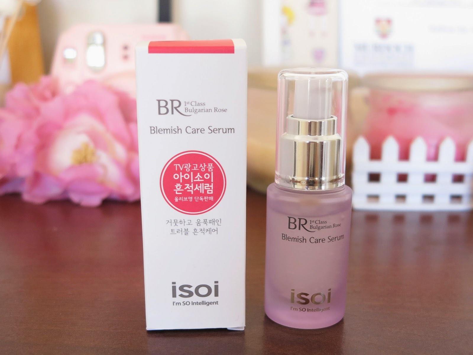 Tinh chất ISOI Bulgarian Rose Blemish Care Serum (15ml)