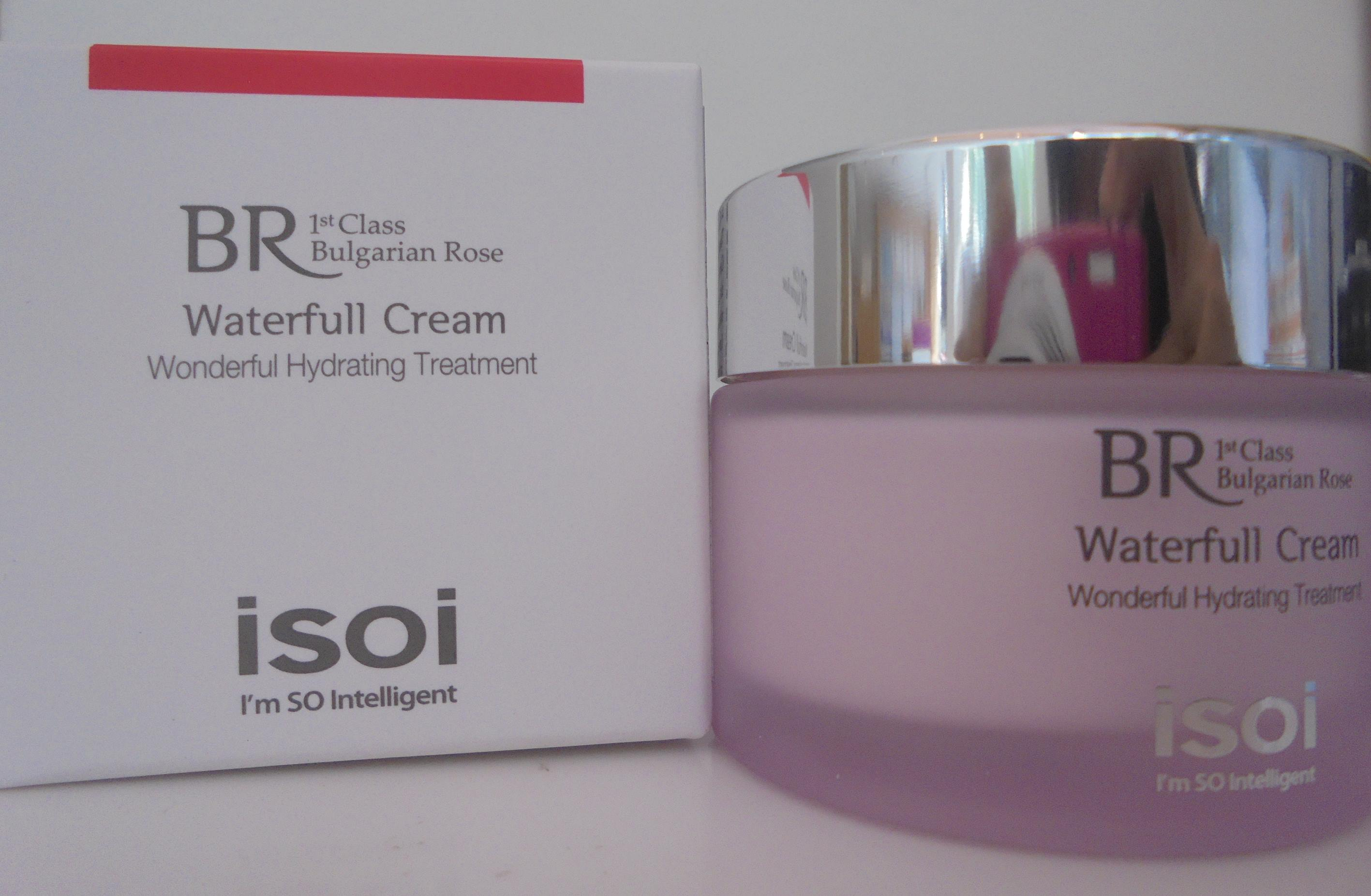 Kem dưỡng ISOI Bulgarian Rose Moisture Waterfull Cream