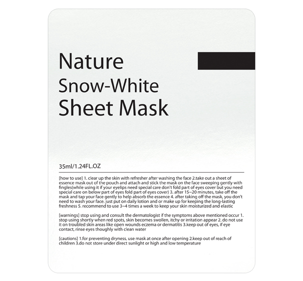 Mặt nạ HBMIC Nature Snow-White Sheet Mask