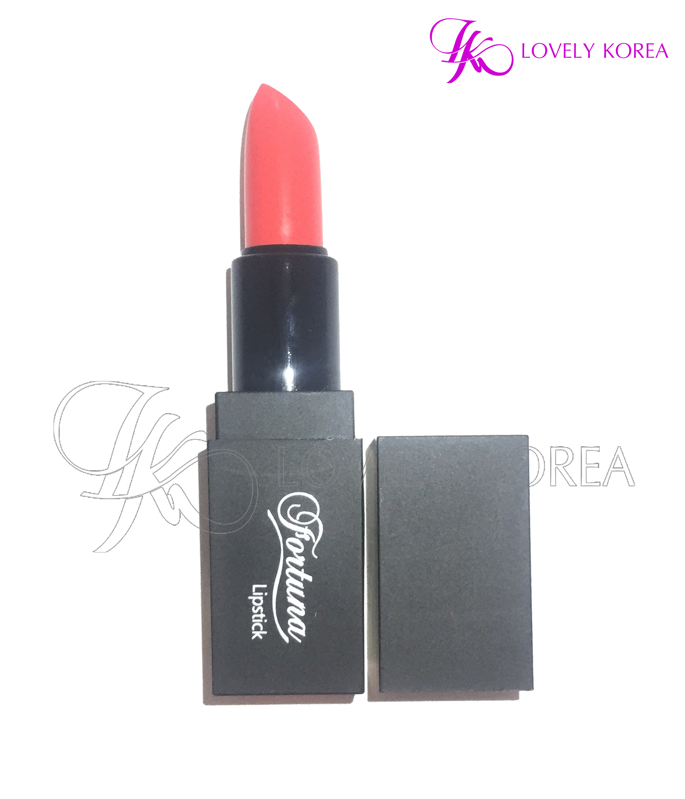 Son siêu lì Fortuna Lipstick (F77 - Deep Orange)