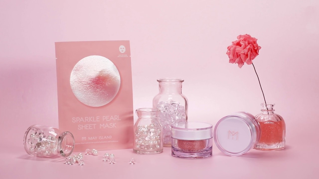 Mặt nạ May Island Sparkle Pearl Sheet Mask hộp 5 miếng