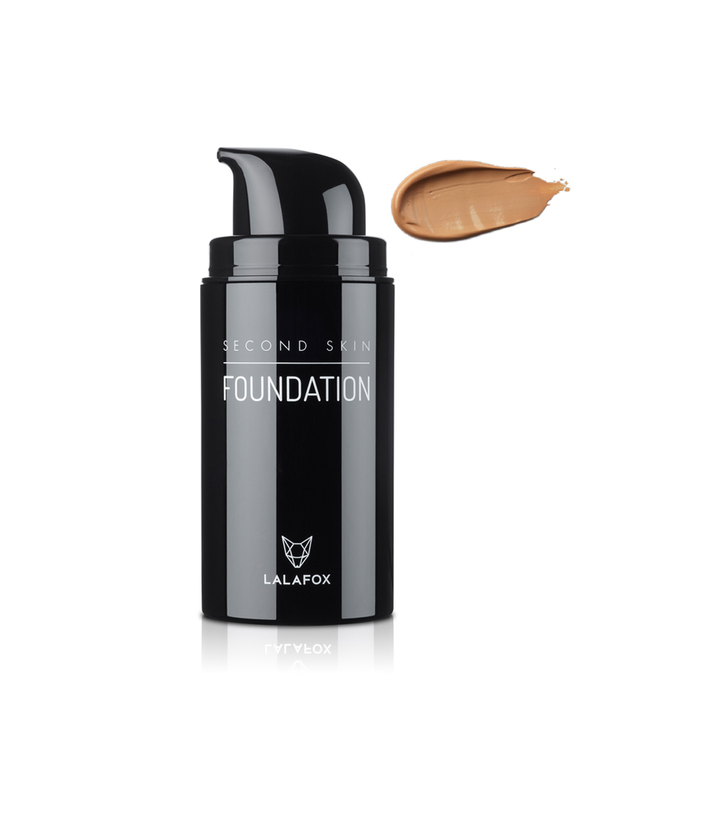 Kem nền LALAFOX Second Skin Foundation (Medium Almond)