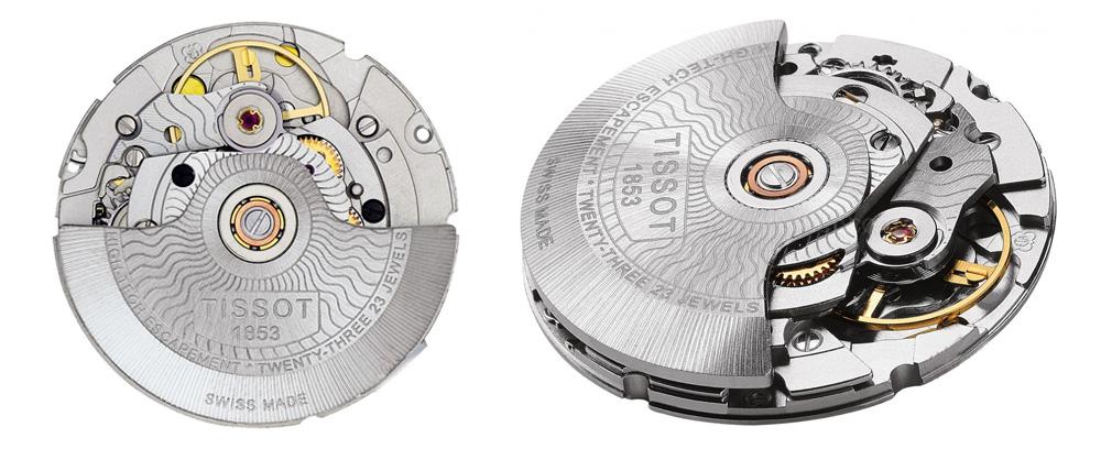 Một mô hình máy đồng hồ tự động của Thụy Sĩ