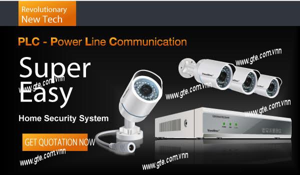 Công nghệ power line communication ứng dụng trong hệ thống camera  giám sát