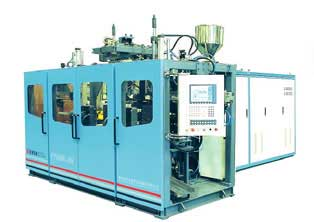 Máy Thổi Can 5L Hai Kìm - FC70R - 5L Double Station Fully Automatic Blow Molding Machine
