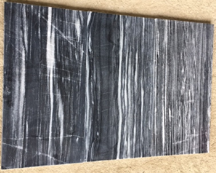 Black Marble with Vein Polished