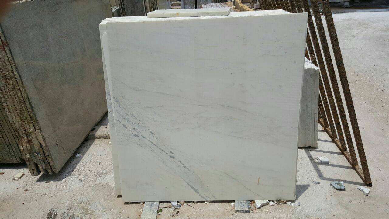 Milky White Polished