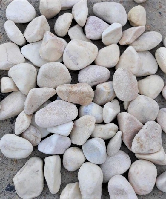 Yellow Tumbled Pebbles