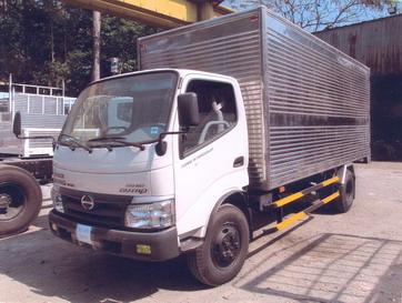 Cần bán xe tải hino 3T5/ 3T7/ 4 tấn thùng kín đời 2016, hỗ trợ vay 80%