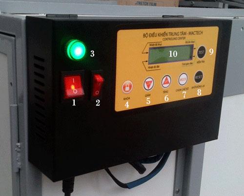 Bộ điều khiển máy ấp trứng công nghiệp