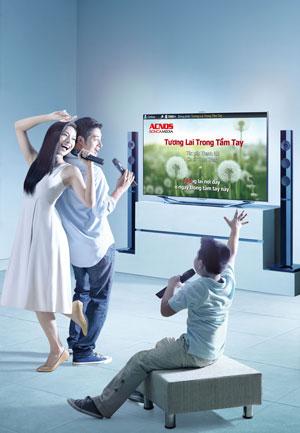 loa karaoke gia đình