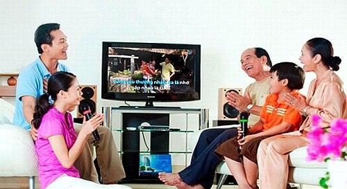 bộ dàn karaoke gia đình