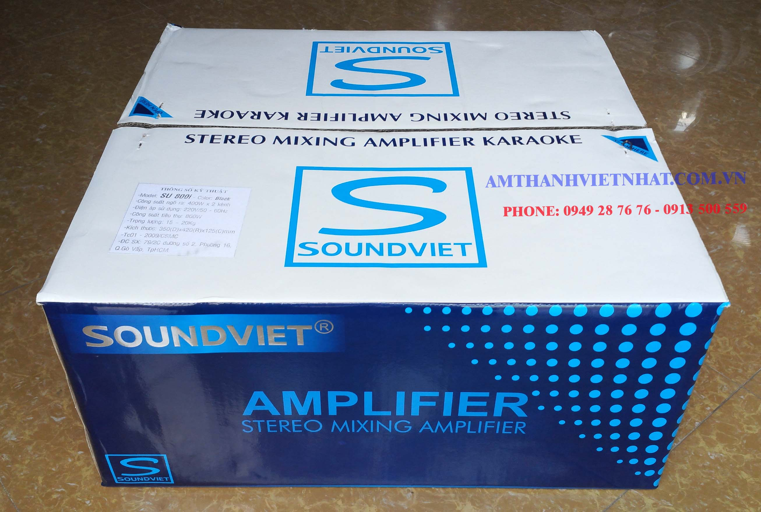Ampli VE audio SU 800i