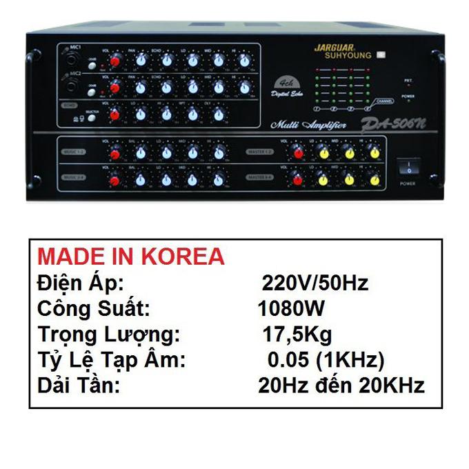 Amply karaoke Jaguar PA-506N