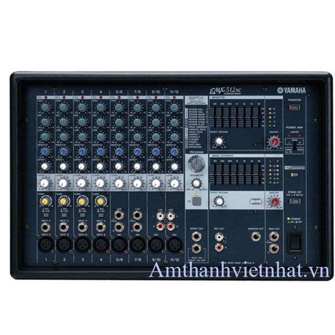 Bàn mixer kèm công suất YAMAHA EMX512SC