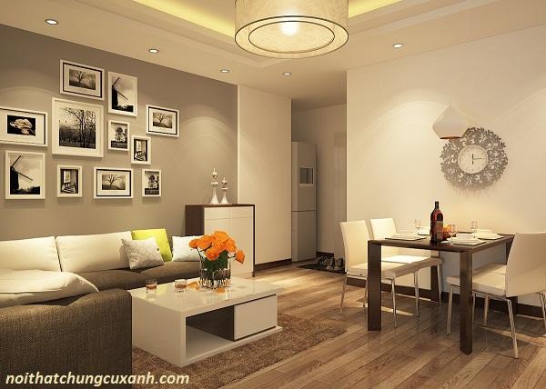 Phòng khách có diện tích nhỏ