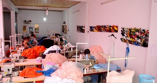 xưởng may áo thun 2