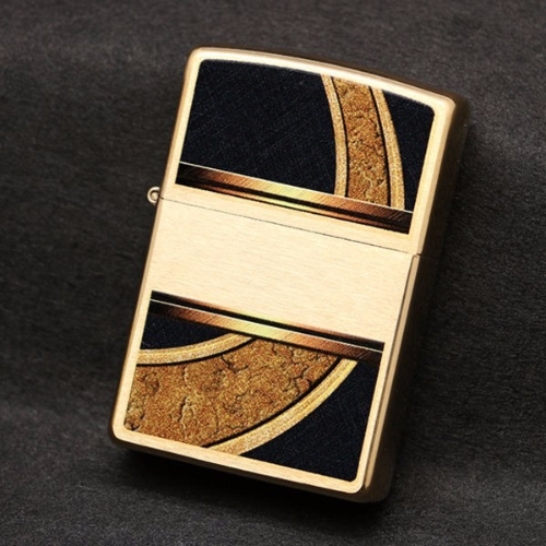 Zippo Gold And Black 28673