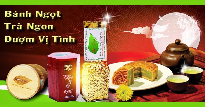 Hộp trà (chè) Thái Nguyên biếu tết Trung Thu