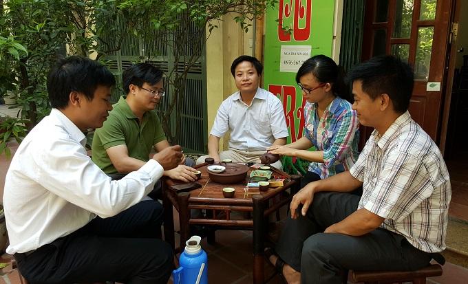 Thưởng chè Shan Tuyết Suối Giàng