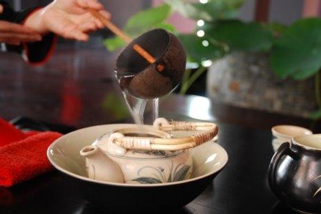 nghệ thuật pha trà