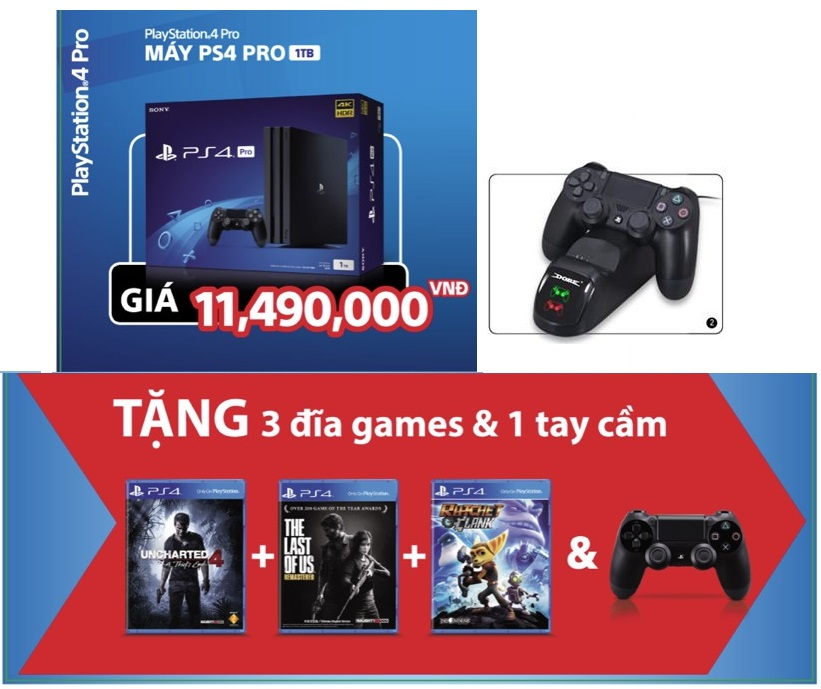 may-ps4-pro-1tb-2-tay-cam-3-game-doc-quyen