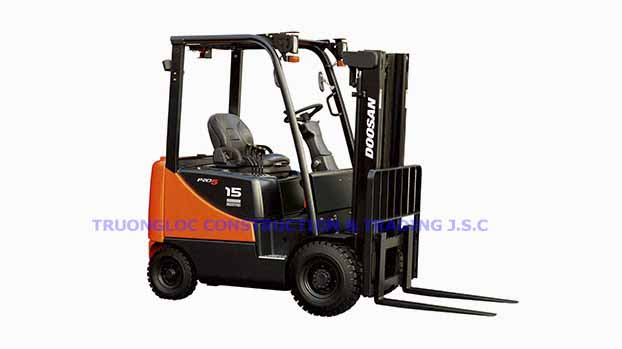 Doosan electric forklift 1.5 tons