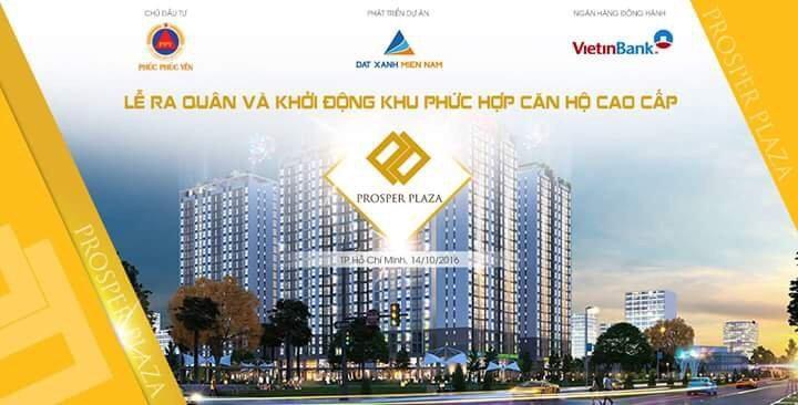 Cần bán căn hộ prosper plaza diện tích từ 49m2 - 65m2, nội thất hoàn thiện